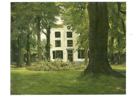 Villa in Hilversum, Max Liebermann