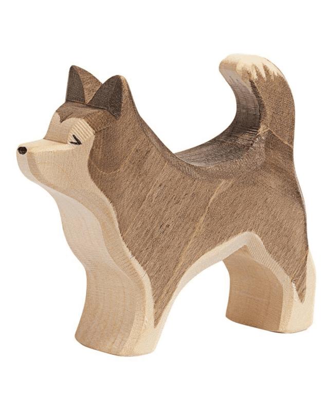 Sledehond staand