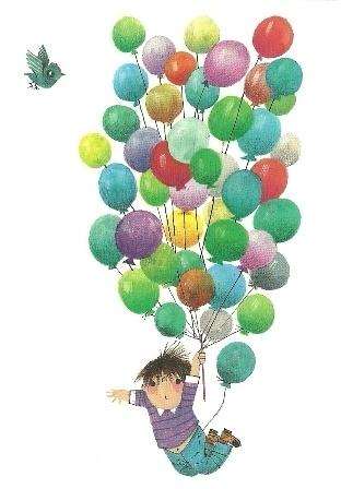 Met ballonnen de lucht in, Fiep Westendorp   Verjaardag   De ...