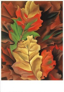 Herfstbladeren, Georgia O'Keeffe