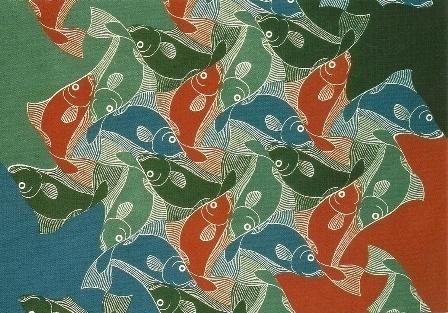 Vissen, M.C. Escher