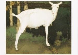 Jonge witte geit, Jan Mankes