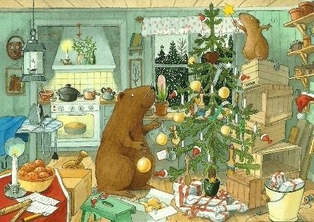 Kerstmis met de dieren, Lars Klinting