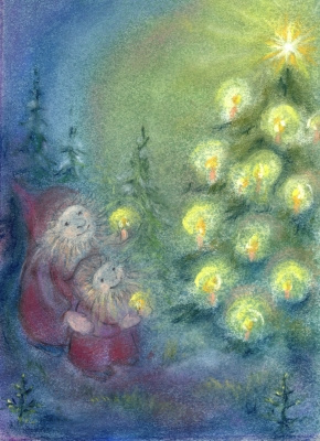 Bij de kerstboom, Sabine Reinink