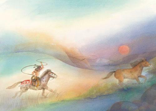 Wilde paarden, Wilfried Strüning