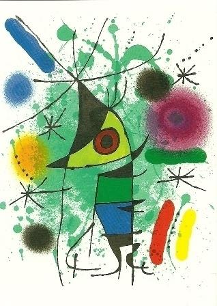 De zingende vis, Joan Miró
