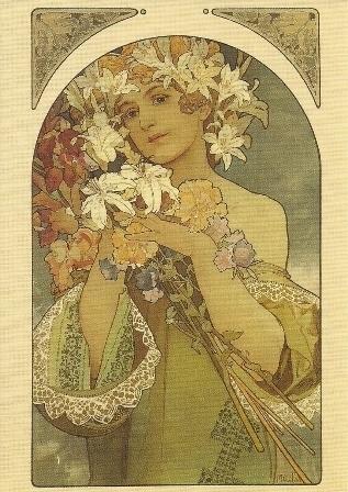 Bloemen, Alphonse Mucha