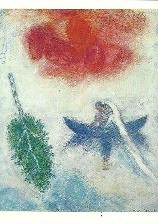De boot, Marc Chagall