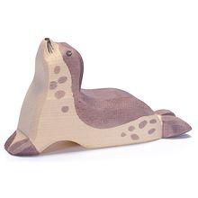 Zeehond kop hoog