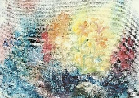 Bloemen in de tuin, Katharina Gasteiger