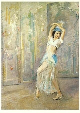 De danseres Pawlona, Max Slevogt