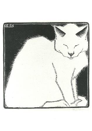 Witte poes, M.C. Escher