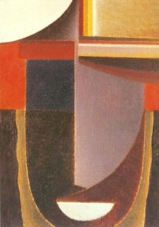 Abstract hoofd, Andante, Alexej von Jawlensky