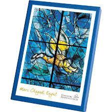 Kaartenmapje engelen van Marc Chagall