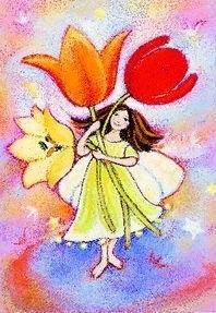Tulpen-elfje, Geertje van der Zijpp