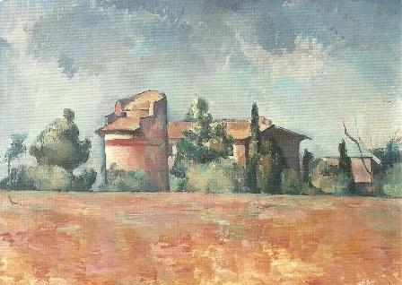 Duivenhuis met mooi uitzicht, Paul Cézanne