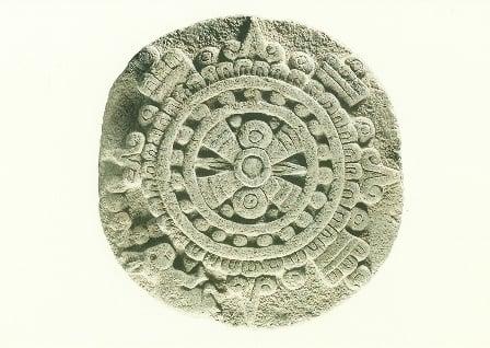 Aztekische zonneschijf, 1500
