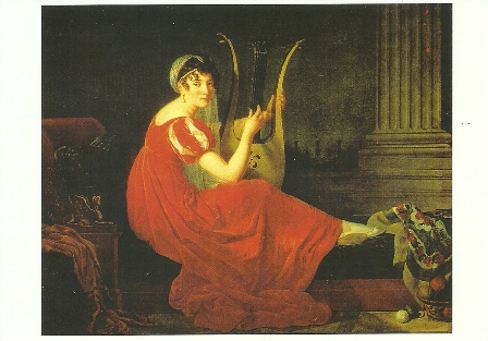 Portret van een vrouw, Mlle. Riviere