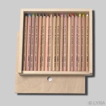 Lyra kleurpotloden 6-kantig, per stuk, 35 kleuren