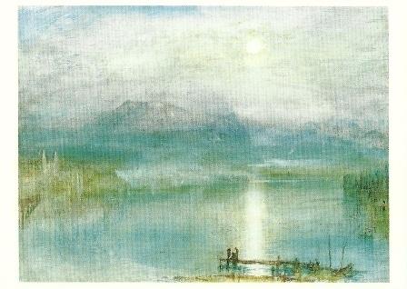 Vierwoudstedenmeer in maanlicht, J.M.W. Turner