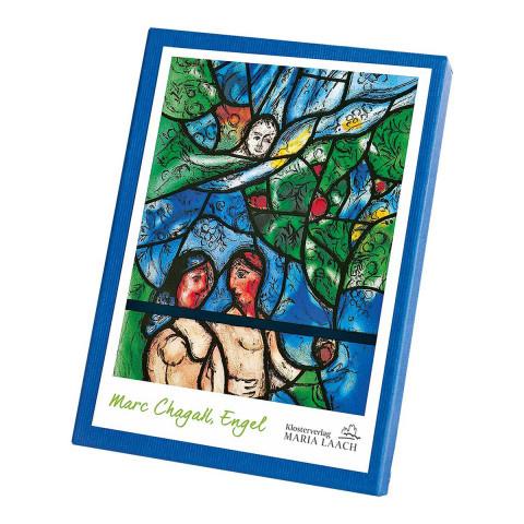 Kaartenmapje engelen 2 van Marc Chagall