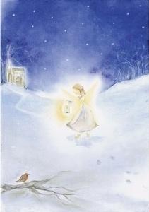 Engeltje in de sneeuw, Baukje Exler
