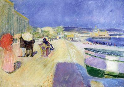 Britse promenade, Edvard Munch