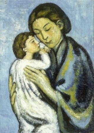 Moeder en kind, Pablo Picasso