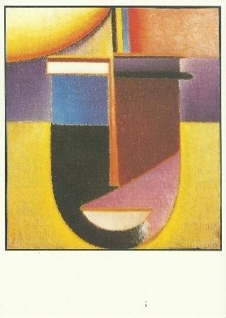 Abstract hoofd: Zon-kleur-leven, Alexej von Jawlensky