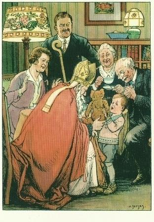 Sinterklaas bij familie, Cornelis Jetses