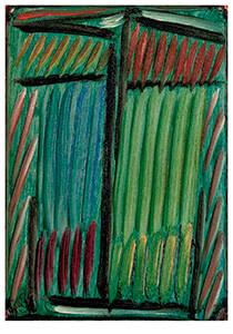 Meditatie: Groen en blauw, Alexej von Jawlensky