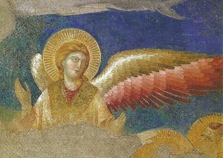 Engel uit Hemelvaart van Christus, Giotto