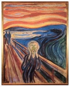 De schreeuw, Edvard Munch
