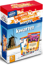 Het grote Holland weetjes kwartet (6+)