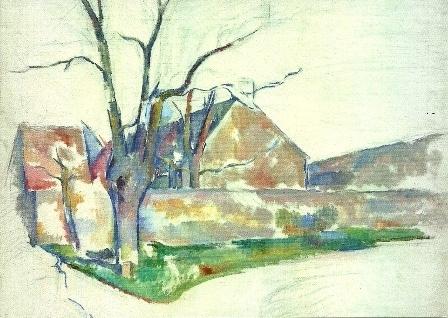 Winterlandschap, Paul Cézanne