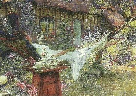 A lazy afternoon, Henri-Gaston Darien
