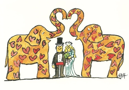 Olifantenhuwelijk, Ted Scapa