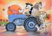 De blauwe tractor, Geertje van der Zijpp