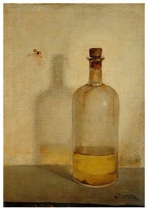 Olieflesje, Jan Mankes