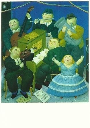 Het orkest, Fernando Botero