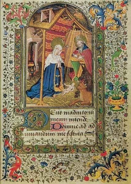 Geboorte van Christus, getijdenboek