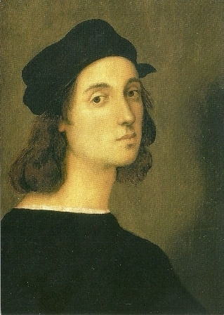 Zelfportret 1506, Rafael