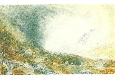 Storm over St. Gotthard, J.M.W. Turner