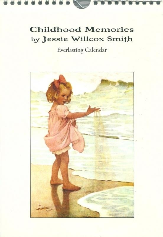 Childhood memories verjaardagskalender, Jessie Willcox Smith