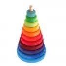 Regenboog toren ( groot ) 11-delig