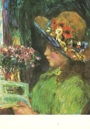 Lezend meisje, Pierre-Auguste Renoir