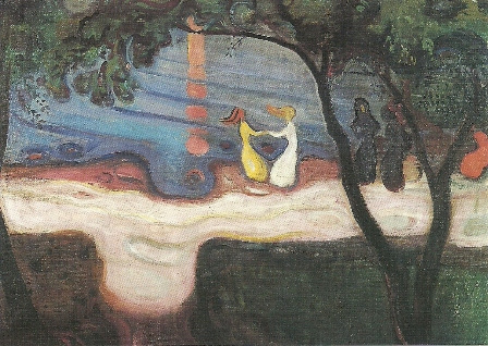 Dansen aan de kust, Edvard Munch