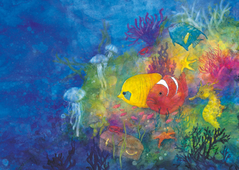 Diep in de zee, Daniela Drescher