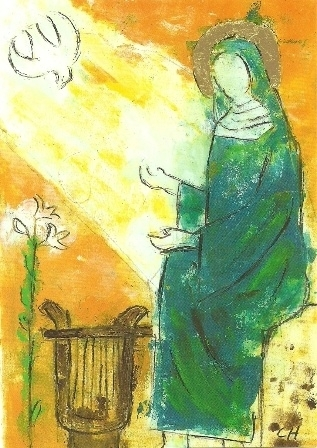 Heilige Hildegard, Christell Holl