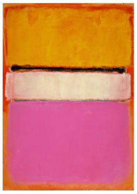 Wit centrum 1950, Mark Rothko
